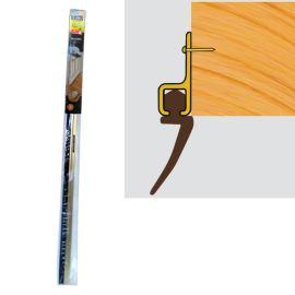 Exitex Bladex Door Strip Draught Excluder - Gold