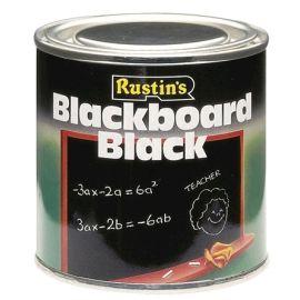 Rustins Quick Dry Blackboard Paint Black 2.5L