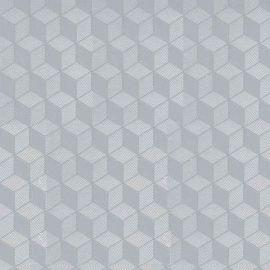 Cubic Design Semi Transparent Self Adhesive Contact - 2m x 45cm