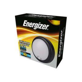 Energizer 15W LED Cool White Light Circular PIR Sensor Bulkhead