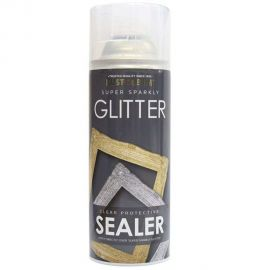 Rust-Oleum Super Sparkly Glitter Clear Protective Sealer - 400ml