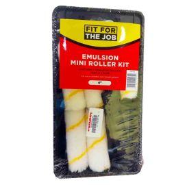 """Fit For the Job Emulsion Mini Roller Kit (4"""")"""