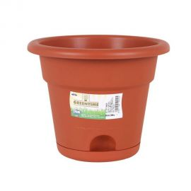 Greentime Flowerpot With Plate - 20cm