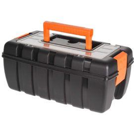 Black & Orange Tool Box - 37cm