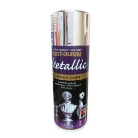 Rust-Oleum Metallic Brilliant Finish Spray Paint - Chrome 400ml