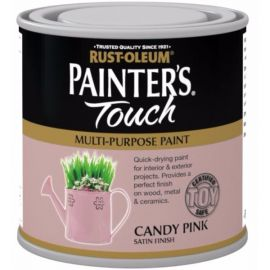 Rust-Oleum Painter's Touch Interior & Exterior Candy Pink Multi-Purpose Paint 250ml