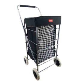 Casa Dogtooth 4-Wheel Shopping Trolley