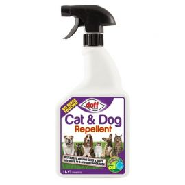 Doff Ready-To-Use Pest Repellent For Cats & Dogs - 1L