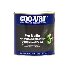 Coovar Pro-Netic Water Based Magnetic Chalkboard Paint - 500ml