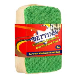 Bettina Chamois Demist & Dashboard Microfibre Pad