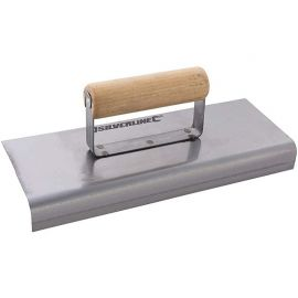 Silverline Cement Edging Trowel - With Wooden Handle
