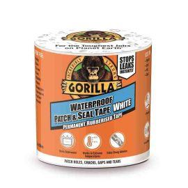 Gorilla Waterproof Patch & Seal Tape - White 3m x 100mm