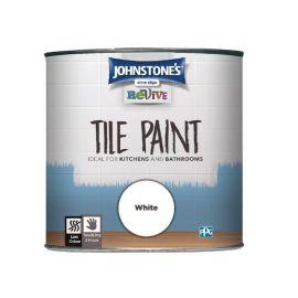 Johnstones Revive Tile Paint - White 750ml