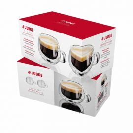 Judge Double Walled Espresso Glasses - Set Of 2