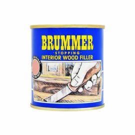 Brummer Stopping Interior Wood Filler - Light Mahogany 250g