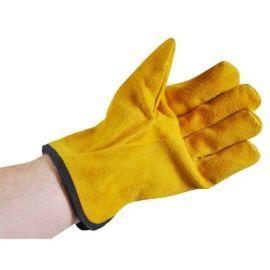 Pro Gold Men's Bramble Gardening Gloves - Yellow