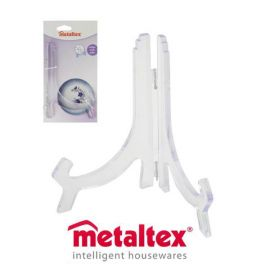 Metaltex Clear Plate Stand - 18 - 26cm