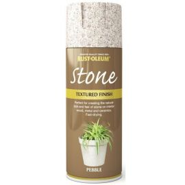 Rust-Oleum Textured Stone Effect Pebble Spray Paint - 400ml