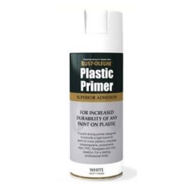 Rust-Oleum Plastic Primer Superior Adhesion White Matt 400ml