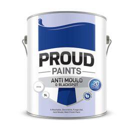 Proud Paints Anti Mould & Blackspot Paint - White 5L