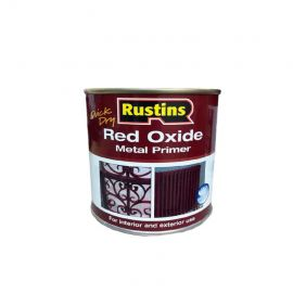 Rustins Quick Dry Red Oxide Metal Primer - 250ml
