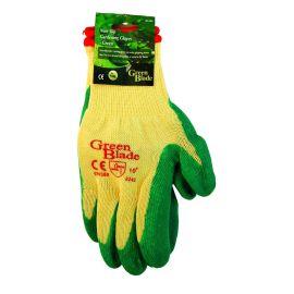 Green Blade Non Slip Green Gardening Gloves