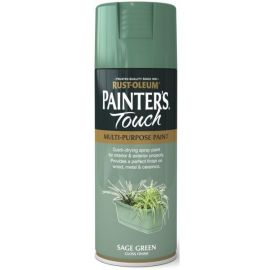 Rust-Oleum Painters Touch Spray Paint - Sage Green Gloss 400ml