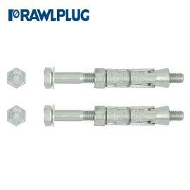 Rawlplug Solid Walls Rawlbolt Shield Anchor - Loose Bolt - M10 x 75mm Pack of 2