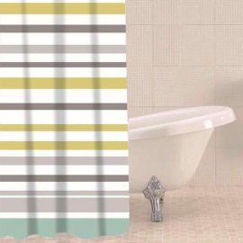 Sabichi Ocean Stripe Shower Curtain - 180 x 180cm