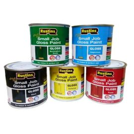 Rustins Quick Dry Small Job Gloss Paint - 250ml