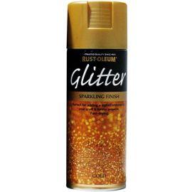Rust-Oleum Glitter Sparkling Finish Spray Paint - Gold 400ml