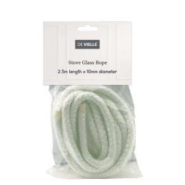 De Vielle Stove Glass Rope 10mm x 2.5m