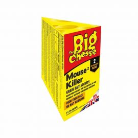 Big Cheese Mouse Killer Grain Bait Sachet  - 2 x 25g