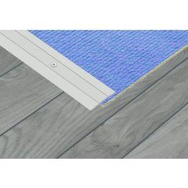 Aluminium Coverstrip 25mm x 900mm