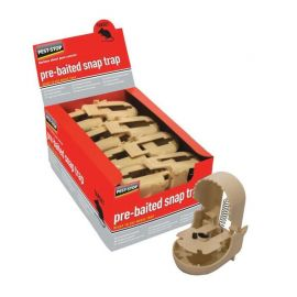 Pest Stop Pre-Baited Mouse Snap Trap