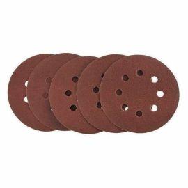 Velcro 125mm P80 Abrasive Discs - Set Of 5