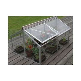 Gaia Jumbo Cold Frame 3ft x 4ft With Toughened Glass