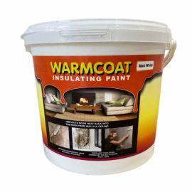 Warmcoat Insulating Paint - Matt White 5L