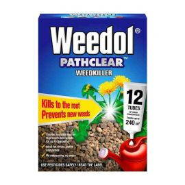 Weedol Pathclear Weedkiller - 12 Tubes