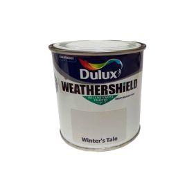 Dulux Weathershield Smooth Masonry Paint - Winters Tale 250ml