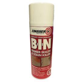 Zinsser BIN Primer, Sealer & Stain Killer Spray - 400ml