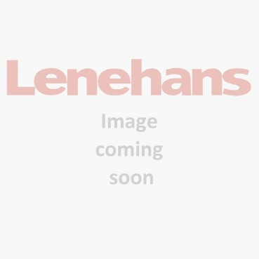 Home Essentials White Gloss Bevel Corner Shelf - 300mm