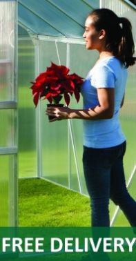 Free Delivery on our Greenhouses