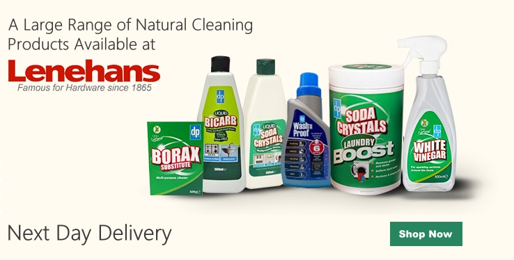 Natural Cleaning Products at Lenehans.ie