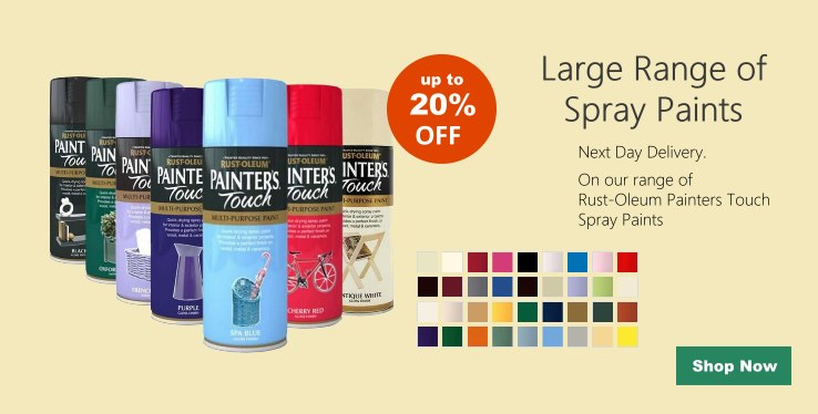 Rust-Oleum Painters Touch Multi-Purpose Spray Paint