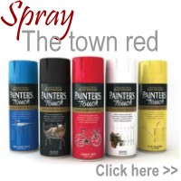 Spray the town red